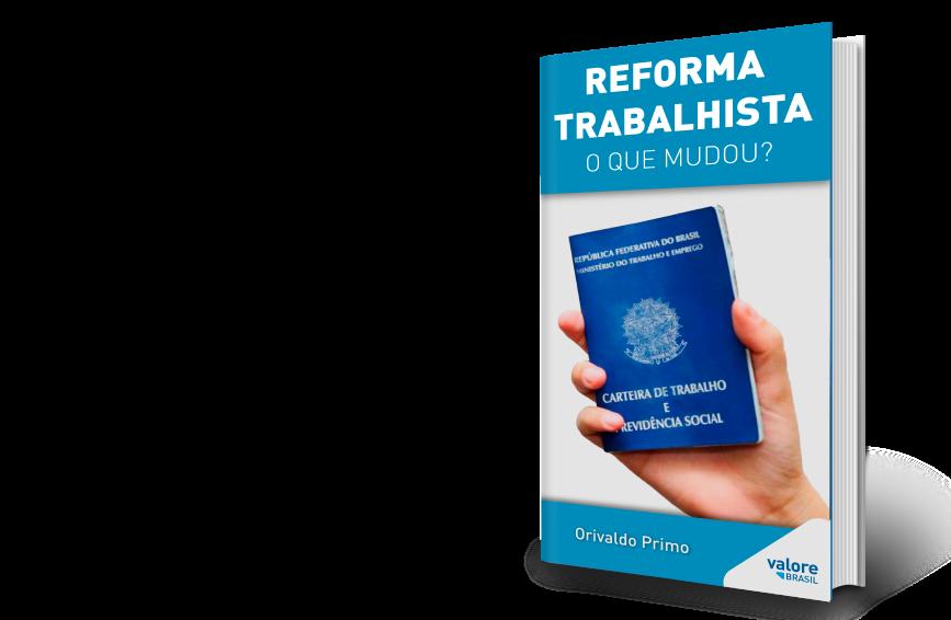 Ebook sobre mudança na reforma trabalhista
